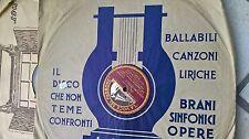78 30CM L'AMICO FRITZ GUGLIELMO RATCLIFF MASCAGNI M.0 SABAJNO ORCH. SCALA EX++