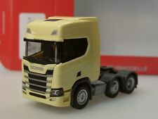 Herpa H0 Scania CR 20 ND Zugmaschine•2 Achser•blau