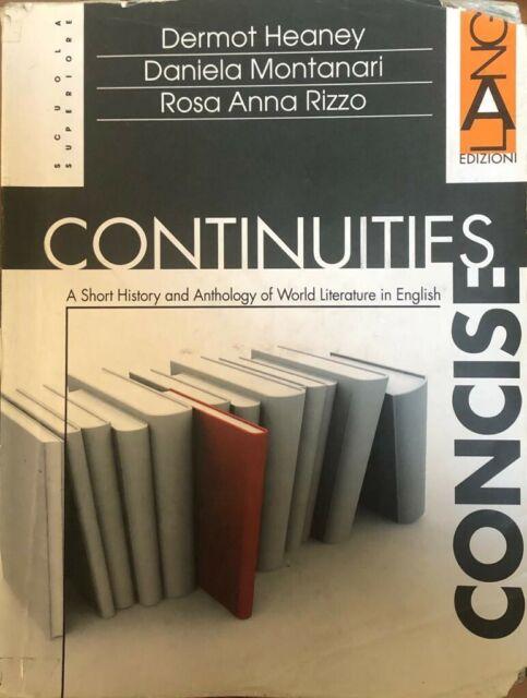 continuities concise heaney-montanari-rizzo 9788861610392