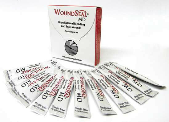 BIOLIFE WOUNDSEAL MD Wound Powder (Pro Urgent QR) 12/PK USA New OBP2112 OBP2144