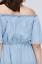 Lane-Bryant-Chambray-Off-The-Shoulder-Fit-Dress-Plus-14-16-18-20-26-28-1x-2x-4x thumbnail 5