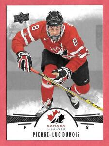 2016-17-Pierre-Luc-Dubois-19-Card-Lot-Upper-Deck-Team-Canada-Juniors-Rookie-58
