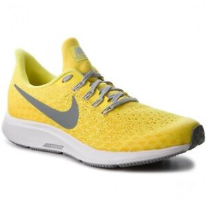 Details about Nike Air Zoom Pegasus 35 GS UK 6 EUR 40 Dynamic Yellow/Cool Grey AH3481 700