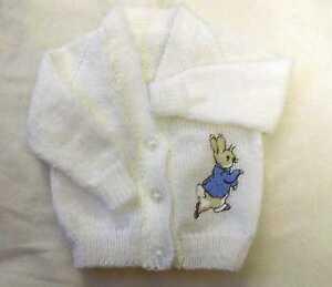 Knitting Pattern For Peter Rabbit Blanket : Peter Rabbit Knitted baby cardigan (New) eBay