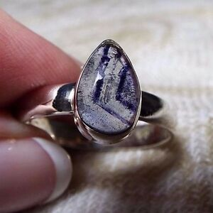 BLUE JOHN UNISEX RING in .925 Sterling Silver, Size 9 (Ring A)