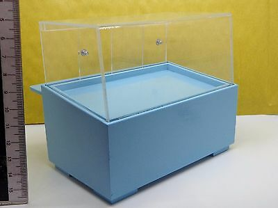 Silver 1:12 Scale  Acetate  Wood Counter Display Dolls House Accessory