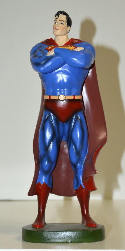 SUPERMAN 10  Resin Action Figure Officially Licensed silverina silverina silverina Release Rare 7e1bd4