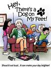 Hey, There's a Dog on My Feet! by Lyn D Nielsen (Hardback, 2015)