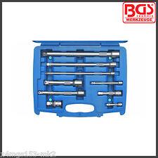 """BGS - 9 Pcs - 1/2"""" 3/8 + 1/4"""" - Wobble"""" Extension Bar Set 50 - 250 mm Pro - 2252"""