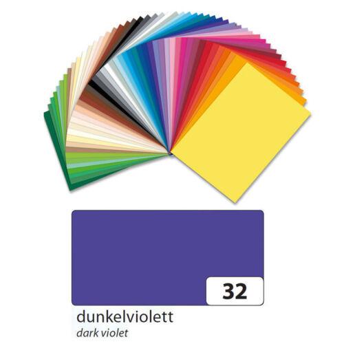 Fotokarton 300g//qm Din A4 50er Pack Dunkelviolett