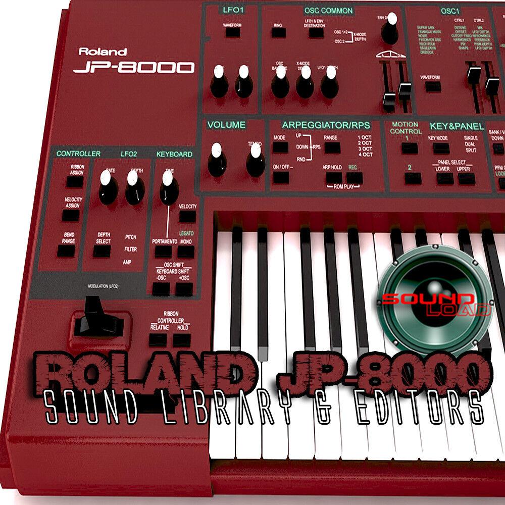 for ROLAND Super JX Original Factory & NEW Created Soun