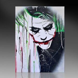 Kunstdruck Auf Leinwand I Am Joker By Bw Div Grossen Street Art
