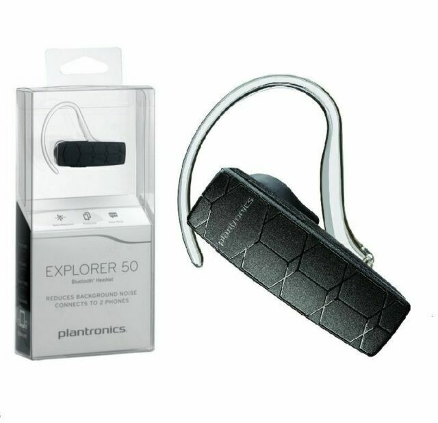 Plantronics Explorer 50 Wireless Bluetooth Headset Retail For Sale Online Ebay