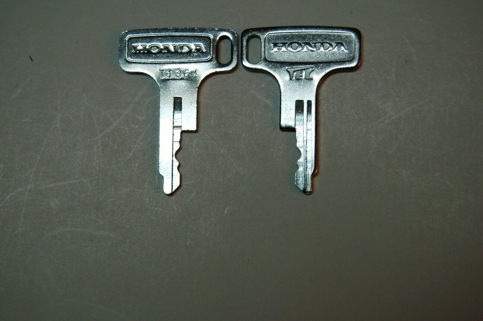 Vintage Honda OEM Factory Pre Cut Motorcycle Key # T4799
