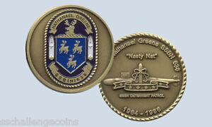 USS Nebraska SSBN 739  Submarine Challenge Coin Boomer Pride