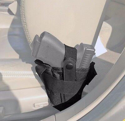Car Seat Pistol Gun Holster Vehicle Truck Carry Ambidextrous Small