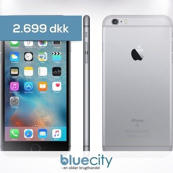 iPhone 6S Plus, GB 64, sort