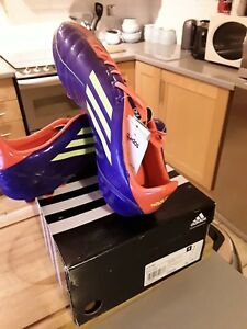 fc49fedc8f58 Image is loading Adidas-F10-MG-purple-Moulded-Studs-Mens-Football-