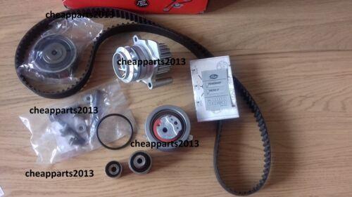 Bomba De Agua /& Kit Correa Distribución Audi Seat Skoda Volkswagen 1.6 2.0 TDI BLUEMOTION