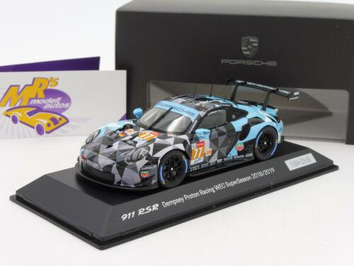 """Spark WAP0209200K # Porsche 911 RSR 24h Le Mans 2018 /"""" Dempsey No.77 /"""" 1:43"""