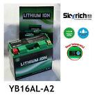 SKYRICH BATTERIA LITIO YB16AL-A2 MOTO LITHIUM ION BATTERY