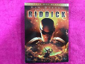Las Chronicles Of Riddick Box Set Vin Diesel 2 DVD Spanish English Mount Manager