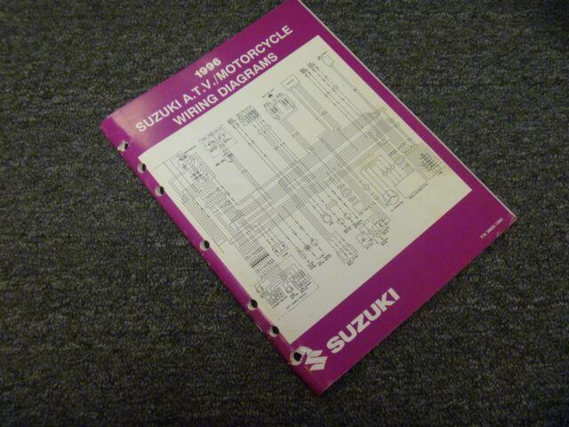1996 Suzuki Katana Savage Intruder Motorcycle Electrical