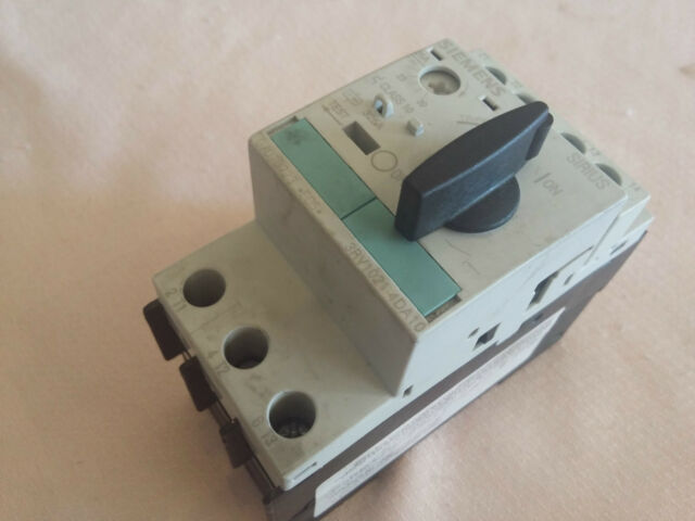 3rv1901-1e interruptor auxiliares Siemens 3rv1021-4ba10 motor disyuntor 20//260a