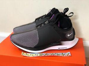 18e5b0365724 Nike Zoom Pegasus Turbo XX Black Bright Violet Womens Size AR4347 ...