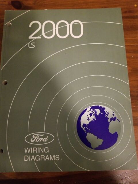 2000 Ford Lincoln Ls Shop Service Workshop Wiring Diagrams
