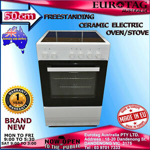 Eurotag-50cm-Freestanding-Electric-Grill-Oven-Ceramic-Cooktop-STOVE-BRAND-NEW