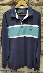 men-039-s-44-46-034-Blue-Harbour-at-M-amp-S-Blue-collared-Sweat-shirt