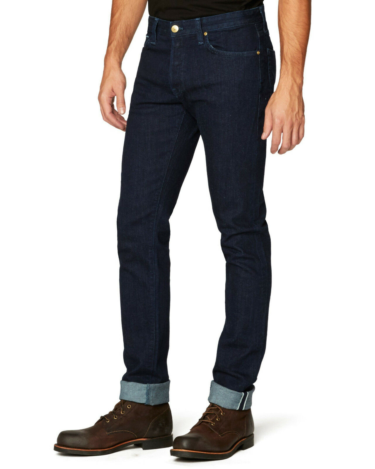 Agave Herren Moderne Passen Jeans Draper Waschung Kanten Hergestellt in USA
