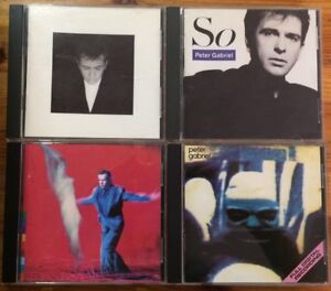 Lot of 4 CDs by Peter Gabriel