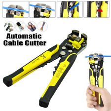 Self Adjusting Electrical Cable Wire Plierstrippercuttercrimper Work Tool 8