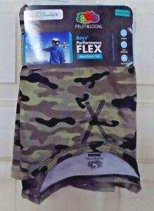14//16 New Fruit of the Loom Boys Performance Flex Baselayer Set Camo XL