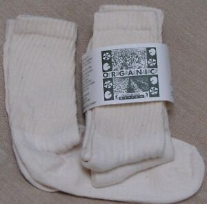 Organic-Threads-Cotton-Socks-Mid-Calf-CREW-USA-MADE-MENS-athletic-L10-13-sports