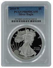 2014 W Silver Eagle PCGS PR69 DCAM  - Blue Label