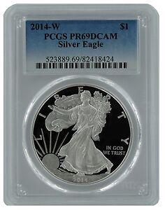2014-W-Silver-Eagle-PCGS-PR69-DCAM-Blue-Label