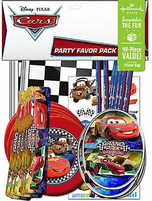 Disney Cars Party Favour 48 Pack Birthday Party Supplies Lightning McQueen Mater