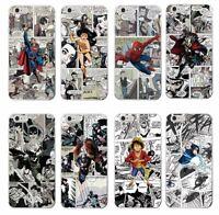 Fundas Comics Manga SpiderMan Batman One Piece Naruto.PARA TODOS LOS IPHONE