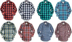 Aeropostale-Mens-Long-Sleeve-Plaid-Button-Down-Woven-Shirt-XS-S-M-L-XL-2XL-3XL