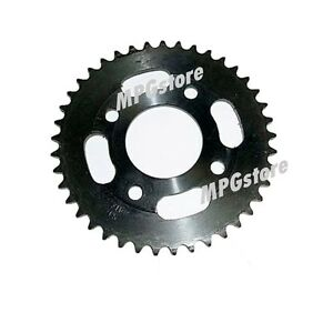 420 Chain Sprocket 41 Tooth 58mm ID Hole 6mm Thick 63.5mm Mount Hole Distance