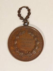 MEDAILLE-CUIVRE-19e-ASSOCIATION-POLYTECHNIQUE-1881-82-COURS-GRATUITS