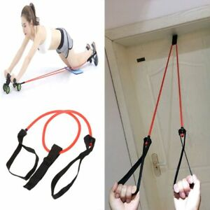 Ab-Roller-Pull-Rope-Abdominal-Exercise-Gym-Fitness-Resistance-Bands-Latex-Tube