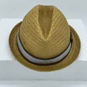 f89e7183 Goorin Bros Everyday Sand Cassel Kids Straw Fedora Hat One Size | eBay