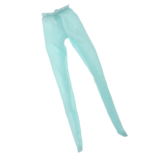 MagiDeal 1//6 Doll Elastic Fishnet Stockings for Blythe Doll Accs Lake Blue