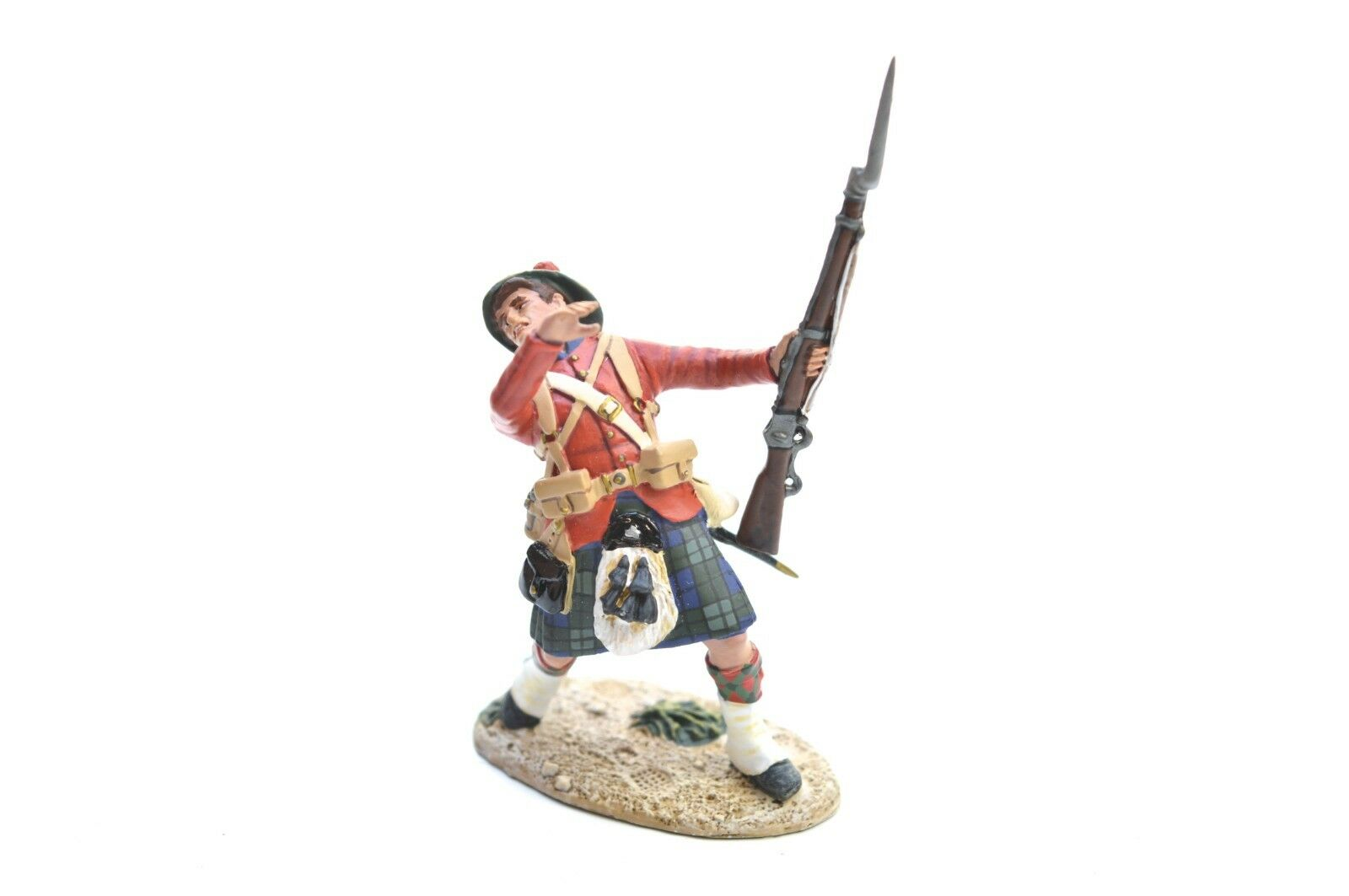 BRITAINS 27067 42nd HIGHLAND CASUALTY FALLING No.1