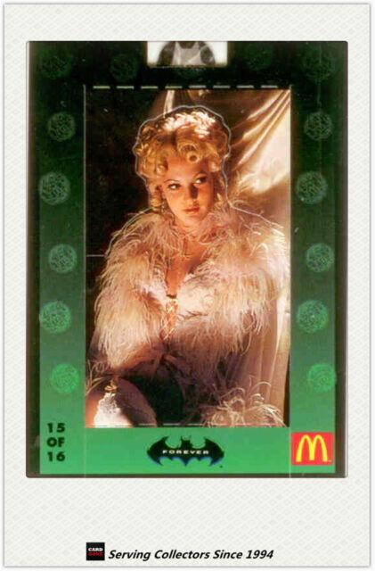 *1995 McDonald Batman Forever Movie Pop-Up Card No15 Sugar Facts