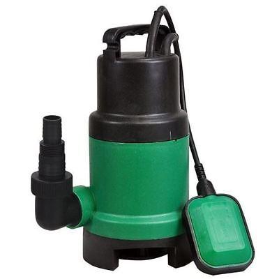 Nuevo 400 W Bomba Sumergible Agua Sucia Limpia Piscina Estanque De Jardín Eléctrica de inundación bien